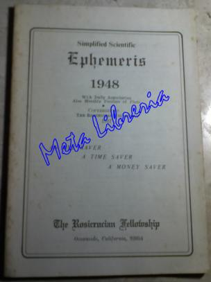 Simplified Scientific - Ephemeris 1948