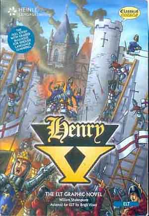 Henry V - Classical Comics- British English With Audio Cd