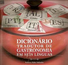 Dicionário Tradutor de Gastronomia Em Seis Línguas