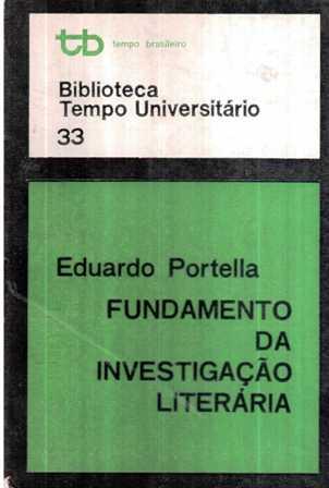 Fundamento da Investigação Literária