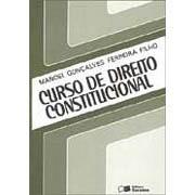 Curso de Direito Constitucional de Manoel Gonaçalves Ferreira Filho pela Saraiva (1994)