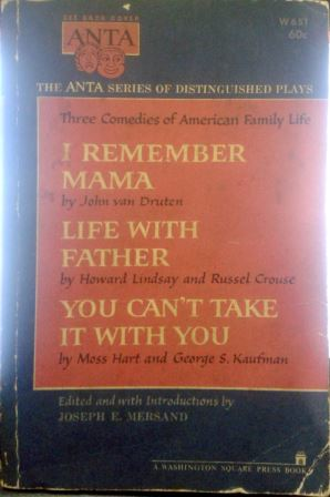 Three Comedies of American Family Life - I Remember Mama / Life With F