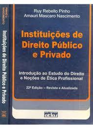 Instituições de Direito Publico e Privado