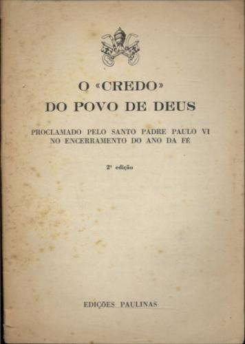 O Credo do Povo de Deus
