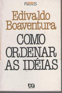 como ordenar as ideias
