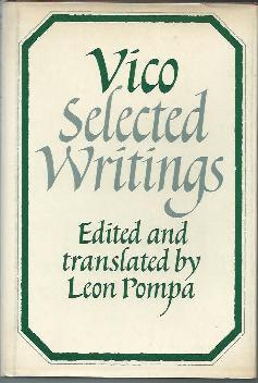 Selected Writings ( Edited and Translated By Leon Pompa )