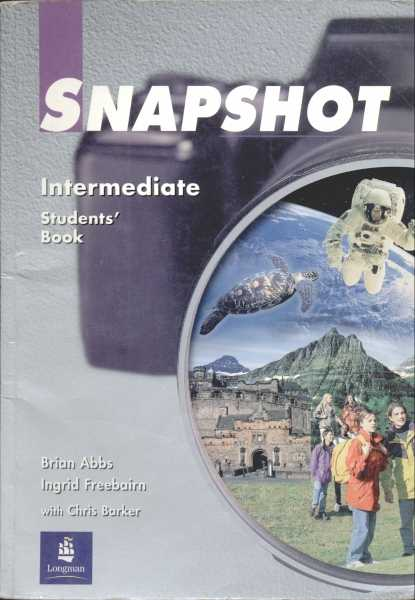Snapshot Intermediate Studentsbook.