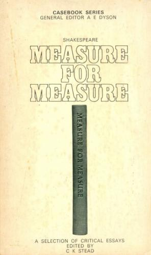 Casebook Series - Shakespeare  Measure For Measure