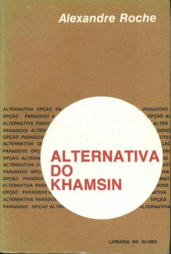 Alternativa do Khamsin - Autografado