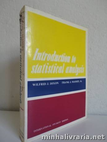 Introduction to Statistical Analysis