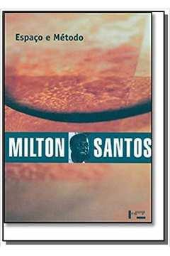 ESPACO E METODO - COLECAO MILTON SANTOS