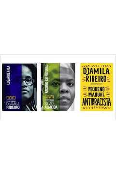 KIT LIVROS RACISMO: LUGAR DE FALA + RACISMO ESTRUTURAL + PEQUENO MANUAL ANTIRRACISTA
