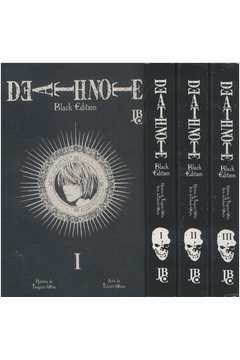 Death Note - Black Edition - 3 Volumes - Do Nº.01 ao Nº.03