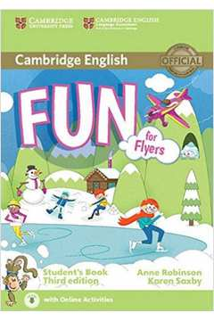 FUN FOR FLYERS - STUDENT'S BOOK WITH AUDIO WITH ONLINE ACTIVITIES -THIRD EDITION