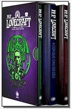 Box HP Lovecraft Os Melhores Contos (3 Vols)