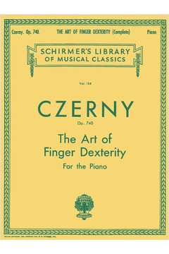 Art of Finger Dexterity, Op. 740, Complete