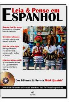Leia E Pense Em Espanhol Com Cd