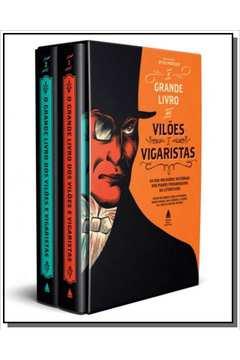 Box - Grande Livro Dos Vilões E Vigaristas, O