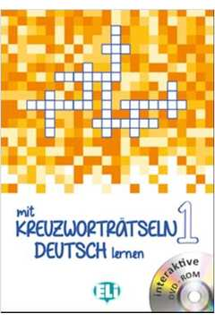 Mit Kreuzwortratseln 1 Deutsch Lernen Mit Dvd-Rom