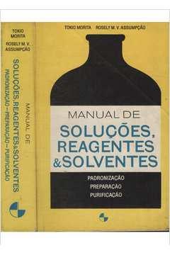 Manual de Soluções Reagentes & Solventes